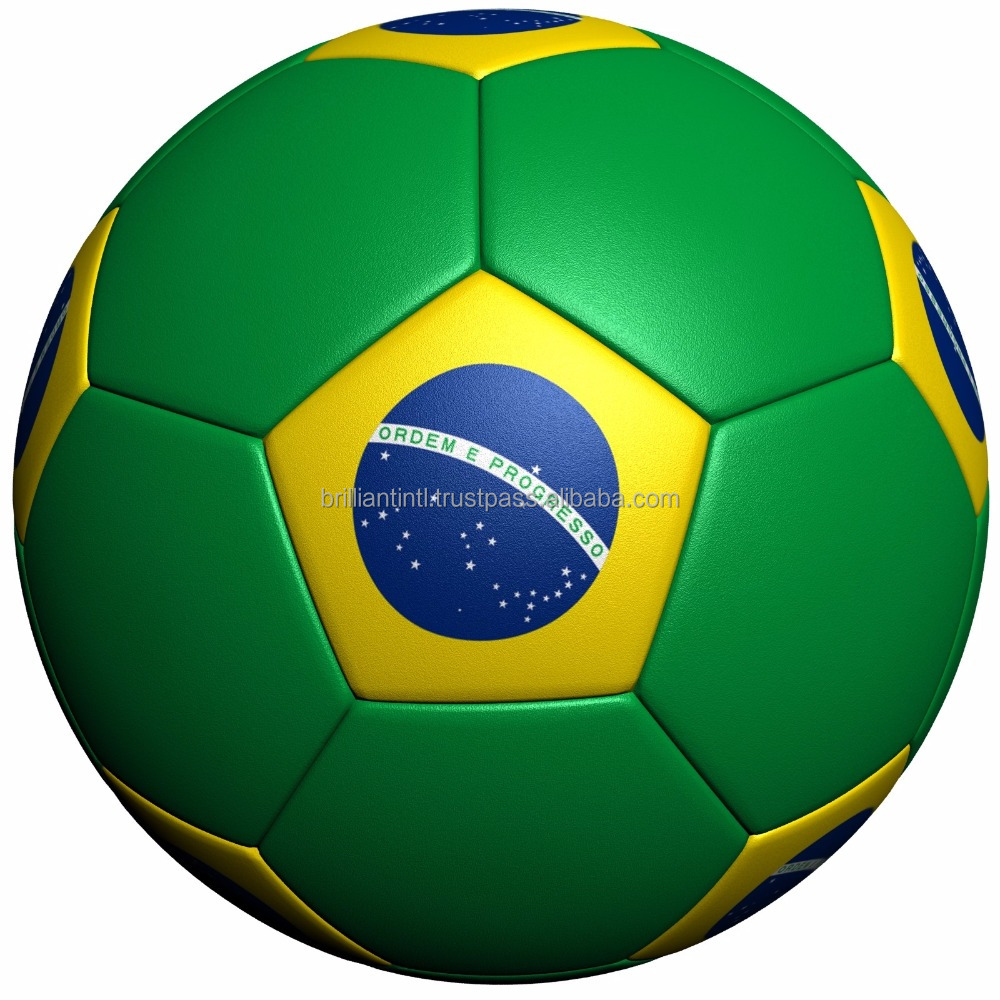 Country flag High quality PU/PVC Soccer Ball / Flag football