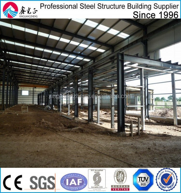 prefabricated steel frame cold formed steel structure warehouse