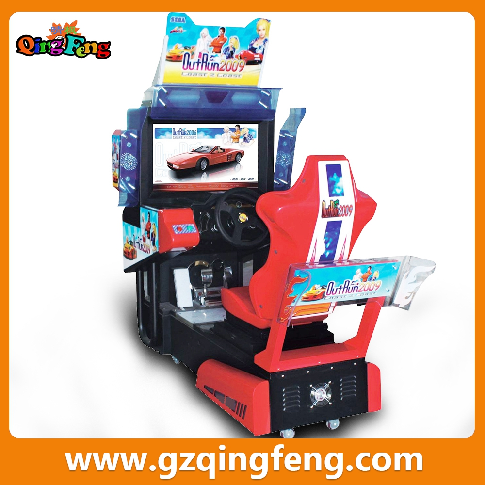 Qingfeng Simulator Racing Car Game Console Machine Arcade Driving ...