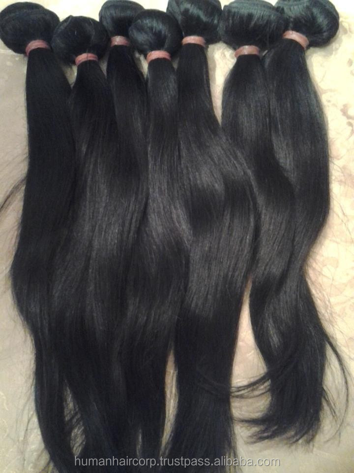 Grade 7A 7Star Hair Company Real Peruvian Hair Weave Made in India Factory Price Remy Hair Extension