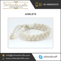 Hot Product HandWoven Cotton Sailor Beach Anklet at Cheap Price