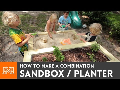 Sandbox/planter combo // How-to