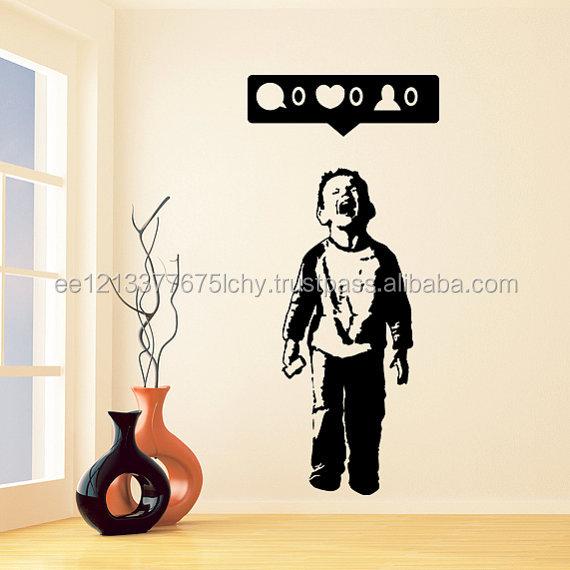 Banksy Wall Art Stickers Wholesale, Wall Art Suppliers - Alibaba
