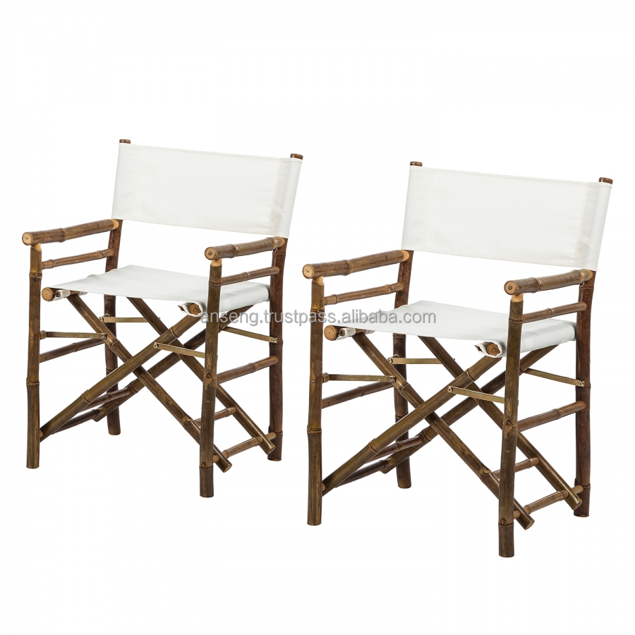 Bamboo Director Chair Outdoor Furniture