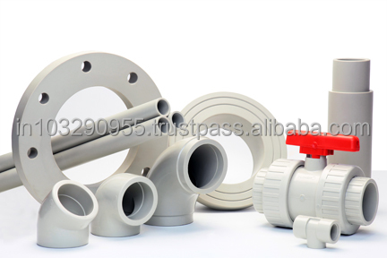 PPH Pipes, Homogeneous structure, excellent chemical resistance, for Pickling Lines