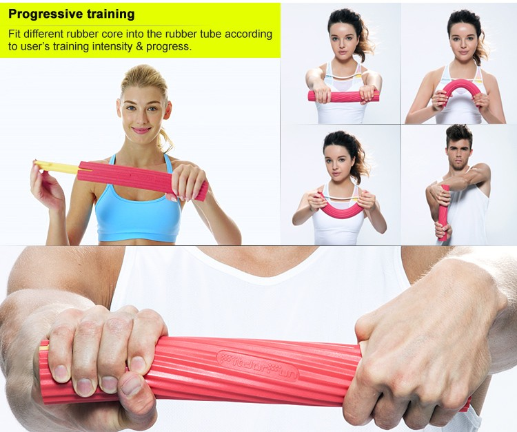Adjustable Home Sports Equipment Wrist Relief Rubber Arm ...