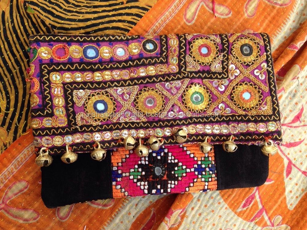 79951e07ae Ladies Fashionable Durrie Clutch Bag Indian Handmade Cotton Carpet Rug  clutch Wholesale