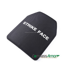 E1012-402 Cheap NIJ Level IV Single Curve Stand Alone Al2O3 Ceramic Ballistic Plate,Alumina+PE Bulletproof Vest Plate