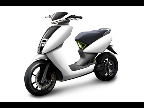 2016 Ather S340 electric scooter India��s First Smart Electric Scooter)