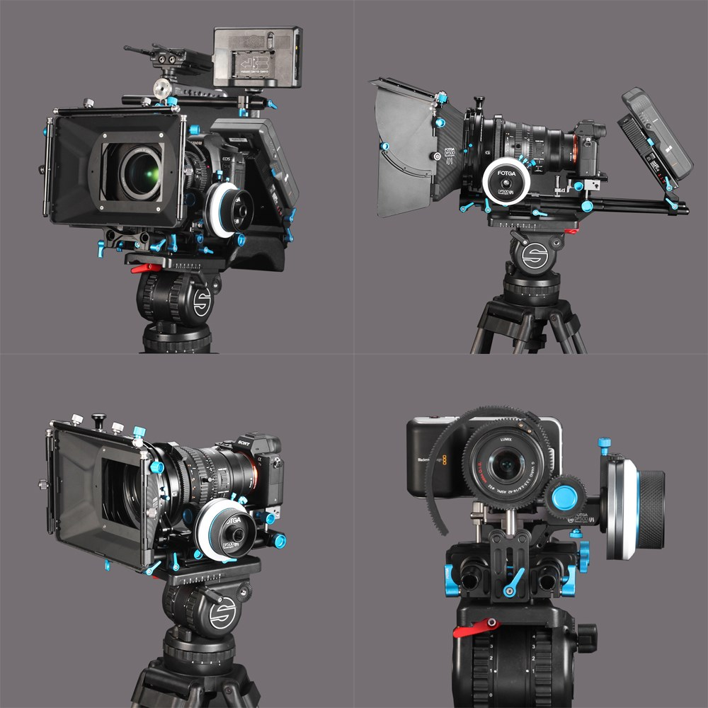 FOTGA DP500 MARK III DP500III Quick-release A/B Hard Stop Follow Focus kits For DSLR HDV HDSLR BMCC BMPC URSA MINI Camera