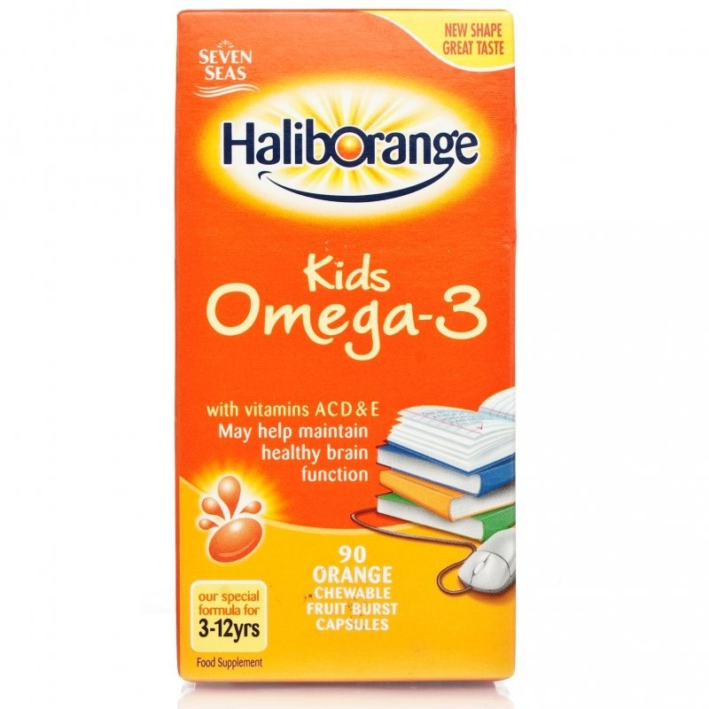 Omega 3 Supplements May Help Boys With >> Haliborange Kids Omega 3 Fish Oil Chewy Capsules Buy