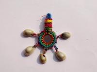 Banjara mirror Patchwork key chain/Indian handmade vintage zip puller Traditional tassels key chain Xmas Offer 2015...