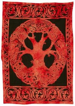 nieuwe indiase keltische levensboom tapestry bohemian tapestry gooi wandtapijten hippie unieke interieur tapijt muur
