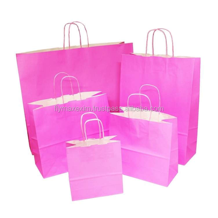 New design kraft paper bags