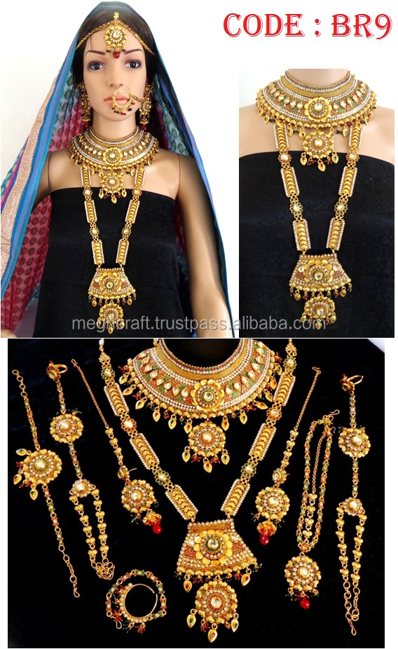 India Dulhan Jewellery Set, India Dulhan Jewellery Set ...