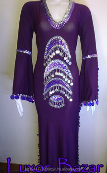 8fedd10434d7b Oriental Egyptian Belly Dance Costume Saidi Dress, Baladi Galabeya,Fallahi  Abaya (S-P-