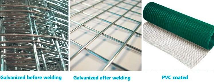 304 Stainless Steel Wire Mesh / Galvanized Steel Wire Mesh 3mm ...
