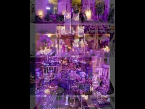 Purple Wedding Theme Decor Ideas & Inspiration - Discount Wedding Supplies