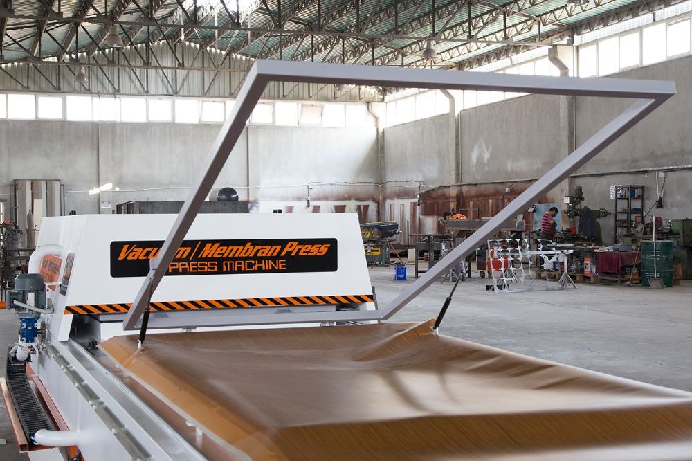 Made In Turkey Membrane Press Machine Pvc Laminate Machine