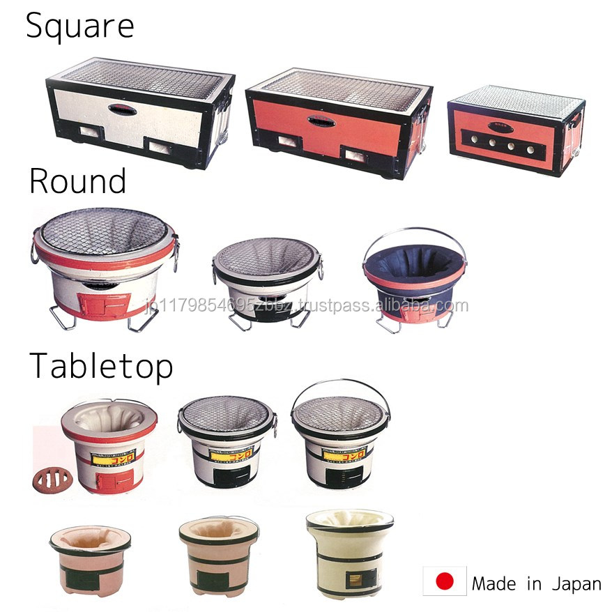Japanese Clay Grill, Japanese Clay Grill Suppliers And Manufacturers At  Alibaba.com
