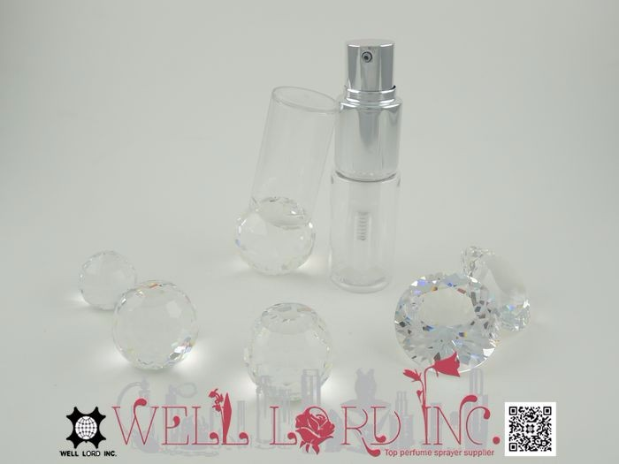 35ml unique shimmer powder sprayer plastic body glitter spray