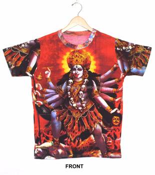 be5f4187a3e Indio Unisex Shakti hindú Diosa Madre Divina deidad T camisa psicodélica  Unisex ropa Hippie Dj arte