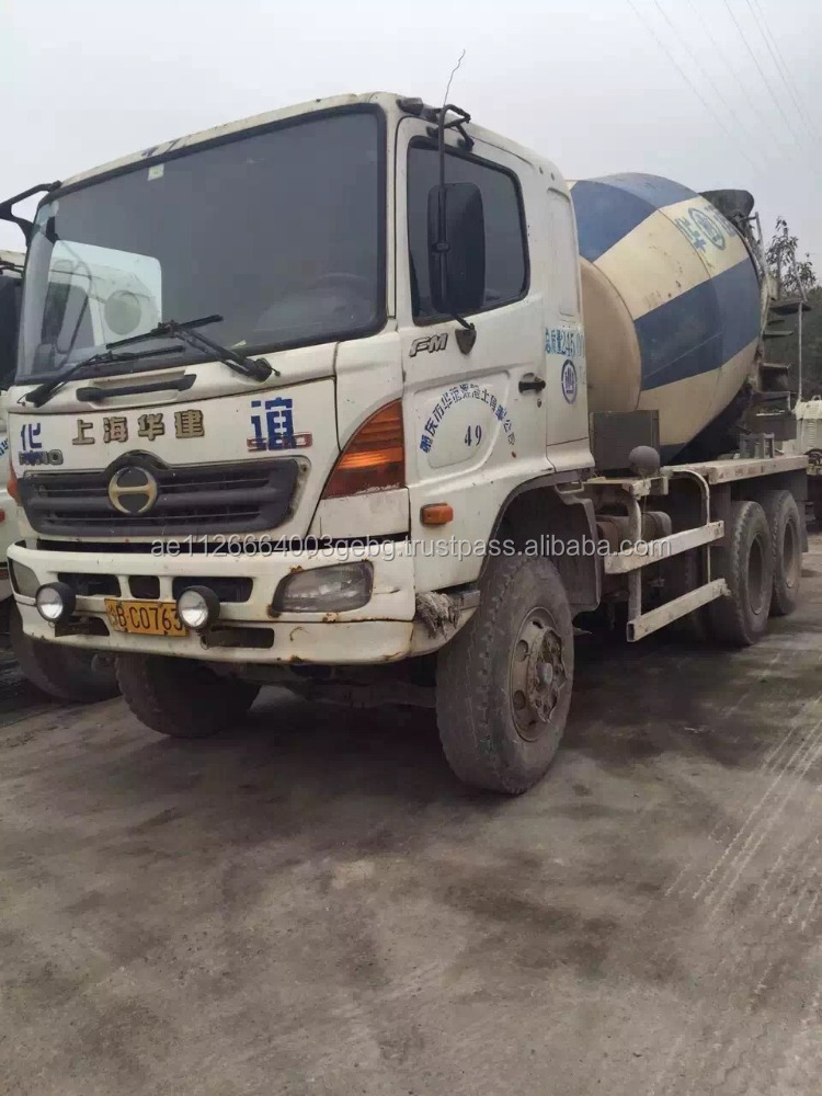 used hino 500 mix truck for sale