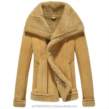 ae3adf7aa3b Women Shearling Sheepskin Lined Bomber Jacket - Buy Sheepskin ...
