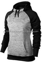 New Front Two Color Style Fleece Hoodie High Quality