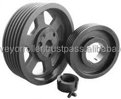 flat belt pulley. taper bush pulleys, v-belt pulley, flat belt pulley
