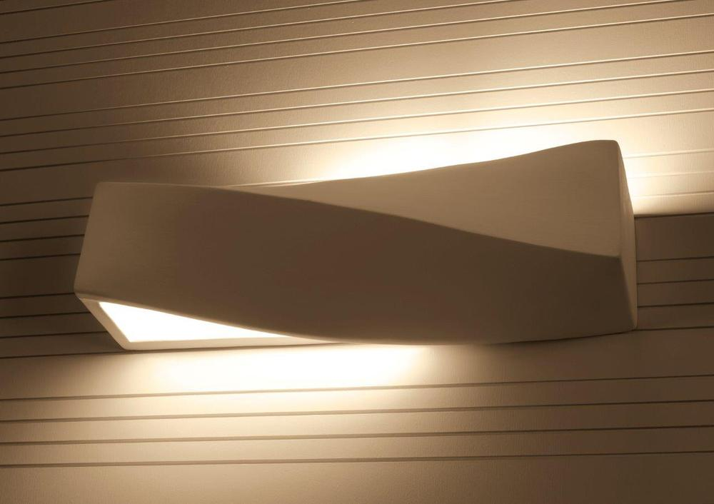 Modern Ceramic Wall Lamp/ Taurus / Up & Down Light Effect