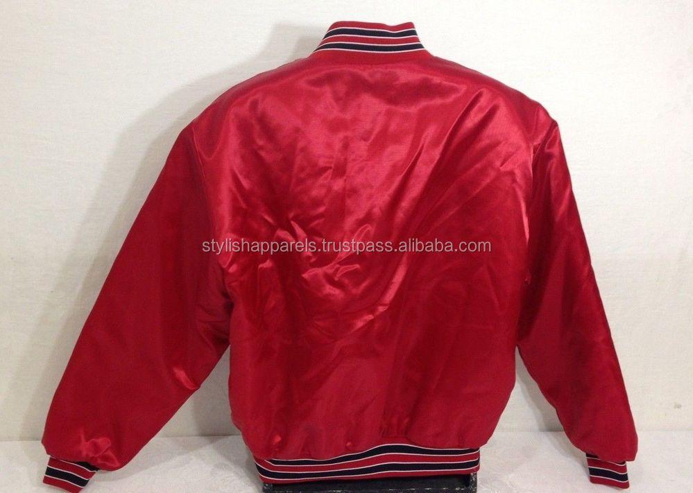 Wholesale Satin Baseball Jackets / Satin Jackets Wholesale - Buy ...