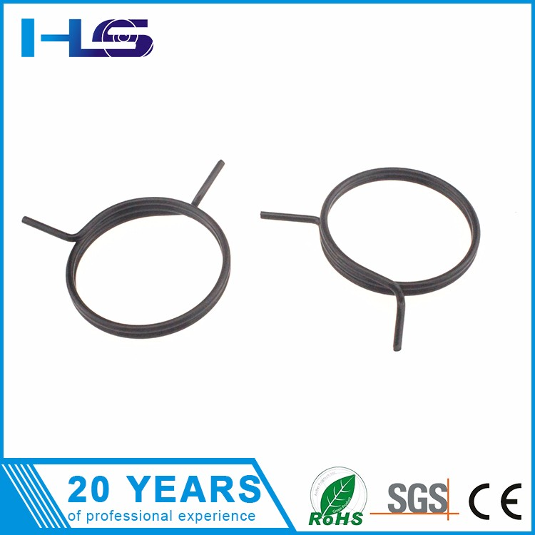 Custom Double Wire Spring Clip,Circular Wire Form Springs,Spring ...