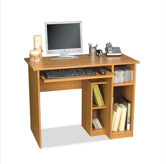 Hecho en china de madera estudiante escritorio de estudio for Diseno de mesa de computadora