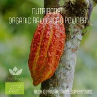 Certified Organic Raw Cocoa powder, Criollo from Peru