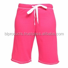 Fleece shorts for women