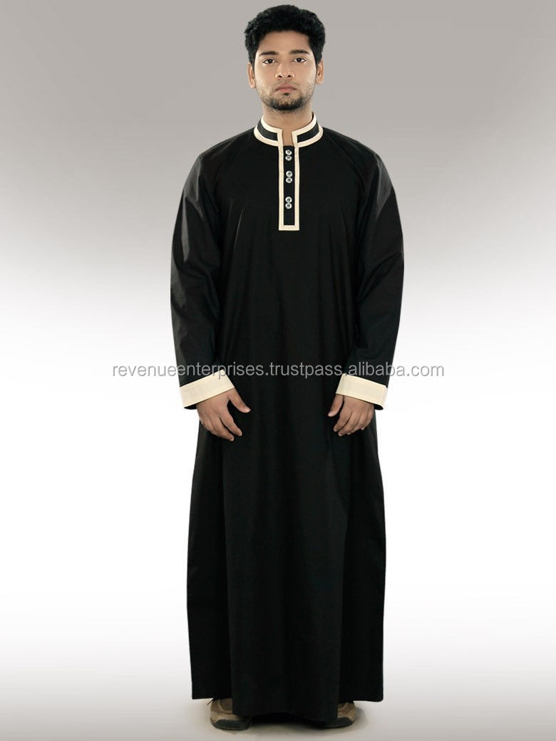 New Style Daffah/ Arab Style Thobe/ Thawb For Men's/muslims Men's ...