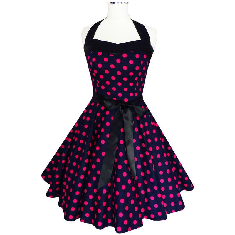 Vintage Rockabilly Full Skirt Swing Dress Ladies Polka Dot Dress L1696  (plus Size Rockabilly Dresses) - Buy Polka Dot Party Dress,White Polka Dot  ...