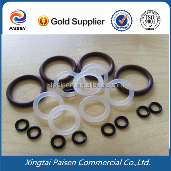 70/75 Transparent Clear Rubber O Ring/ White Silicone Rubber 0 Ring ...