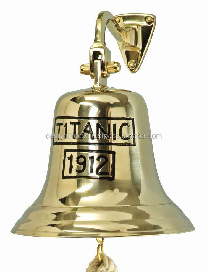 Brass Ship Bell Titanic 1912 Buy Wall Hanging Bell Brass