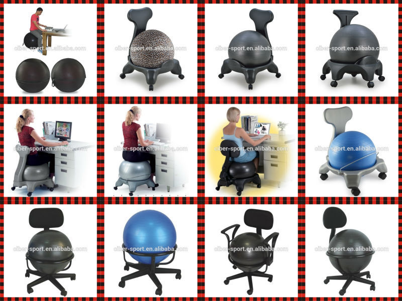 Kid mezzo fit fitness esercizio yoga pilates gym balance ball chair