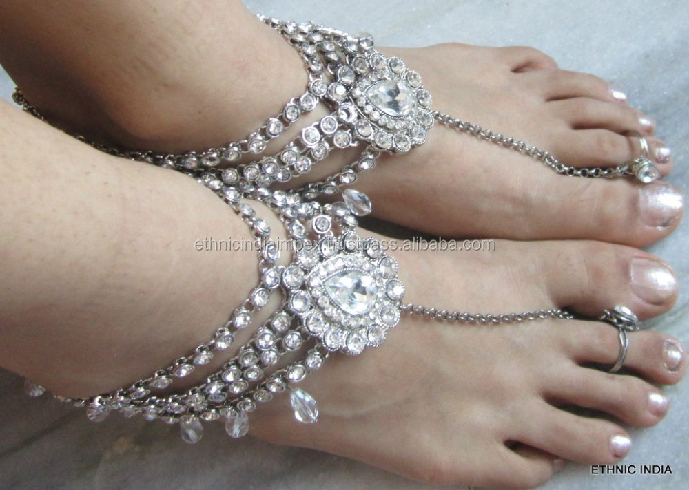 Silver Payal Anklet, Silver Payal Anklet Suppliers and ...