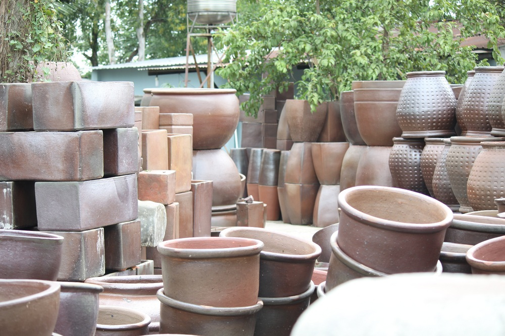 Garden Outdoor Planter Vietnam Rustic Terracotta Pots Wholesale Cheap