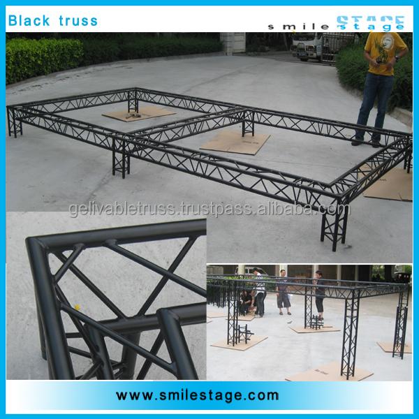 Perfect welding craft aluminum steel bar truss girder for Buy truss