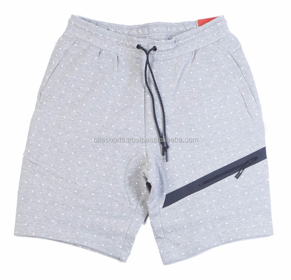 Tech Fleece Polka Dot Short dark grey heather