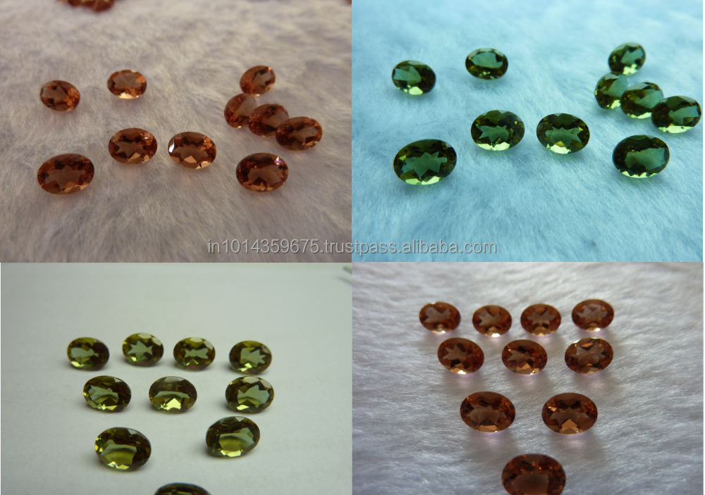FACETS GEMS Loose Color Change Round Brilliant Cut Synthetic Alexandrite Stone Prices
