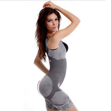 S-Shaper Women Seamless Body shaper Full Body Magic Bamboo Charcoal Natural Slimming Body Fir Corset Shaper