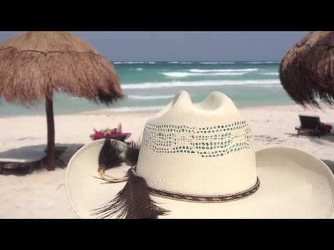 "Tulum, Mexico Beach - The ""Cowboy Hat"" Cam"