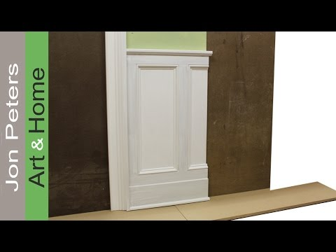 Captivating Tips On Designing And Installing Chair Rail And Panel Molding By Jon Peters