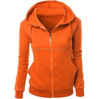 Custom Fleece 100% Cotton quality plain hoodies / zip up hoodie/2017 Cheap Price Printed Back Women Custom Pullover Hoodie